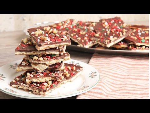 Chocolate Saltines Toffee Recipe