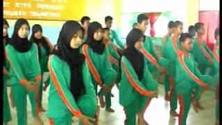 Mata Pelajran Penjaskes SMP Negeri 1 Kandangan HSS INDONESIA