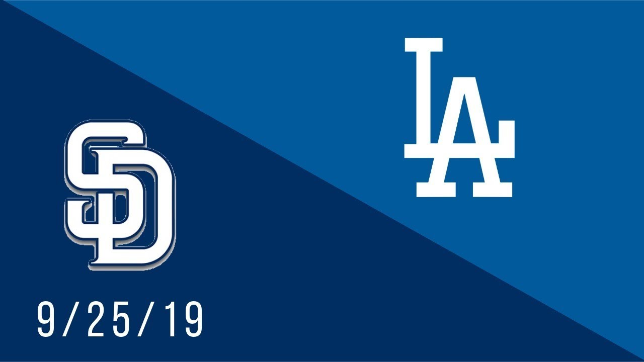 Los Angeles Dodgers vs San Diego Padres - Full Highlights Game - 9/25/19
