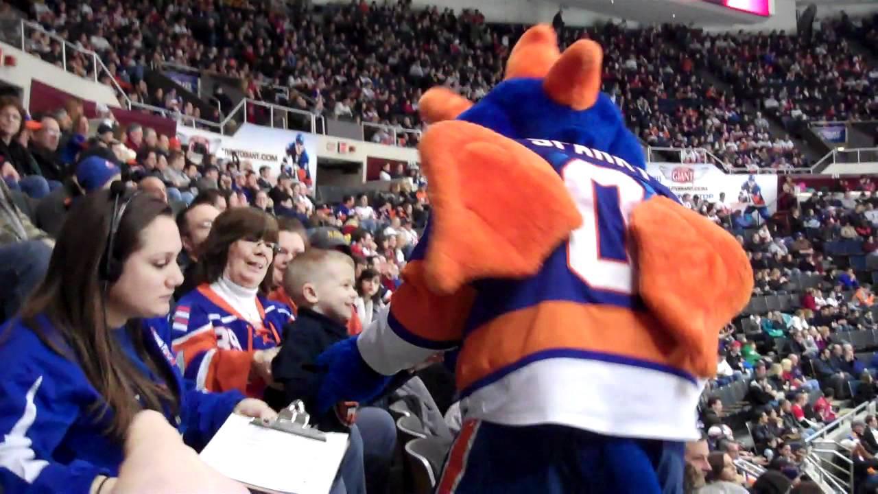 New York Islanders Mascot