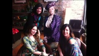 The (not real) Dowager Countess's visit!