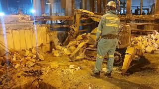 Mechanised Demolition for Enhanced Safety