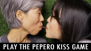 Pepero Kiss Game - How To Play