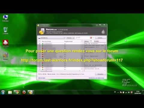 Récupérer des données perdues sur disque dur ou clé USB