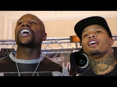 (HEATED!!!) FLOYD MAYWEATHER  KICKS LIAM WALSH AND BROTHERS OUT OF PRESSER AFTER WAR OF WORDS