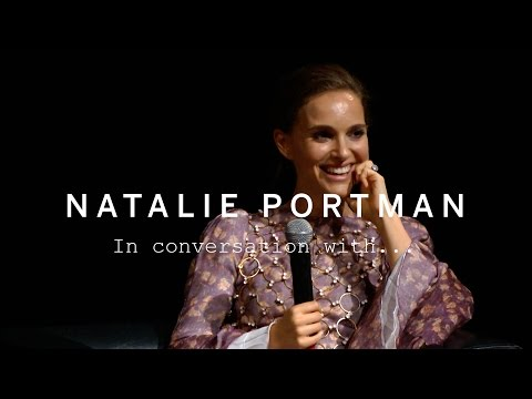 NATALIE PORTMAN In Conversation With... | TIFF15 - YouTube