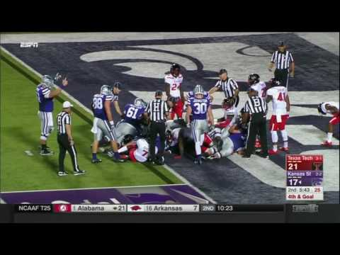 Texas Tech at Kansas State | 2016 Big 12 Football Highlights