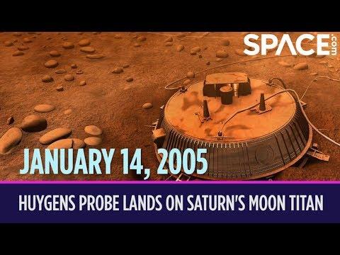 OTD in Space – January 14: Huygens Probe Lands on Saturn's Moon Titan