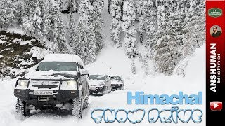 Snow Drive in fresh Snow: Fortuner, Isuzu D-Max V-Cross, Gypsy