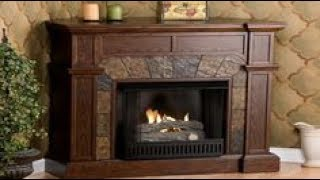 Corner Electric Fireplace Entertainment Center