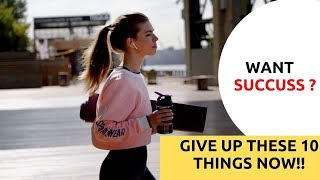 10 Things To Give Up In Your Daily Life For Success || Mohan Sampath || #Foursway_Media