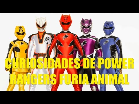 Curiosidades de Power Rangers Furia Animal 2008 (Jungle Fury)