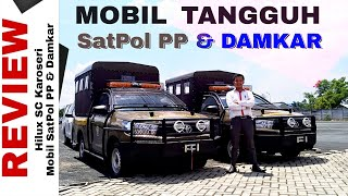 Explorasi Mobil Satpol PP dan Damkar dari Hilux Single Cabin Toyota Indonesia