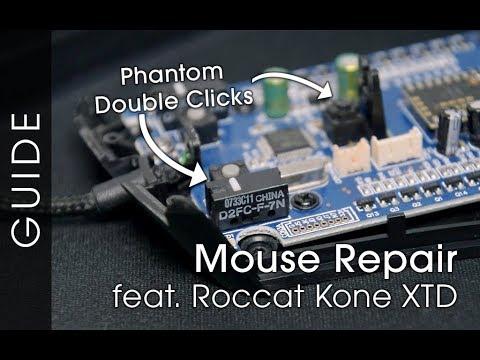 Repairing My Gaming Mouse - Phantom Double Clicks