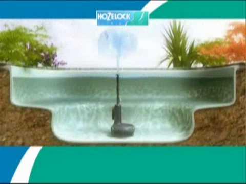 Hozelock easyclear pond pump filter youtube for Easy pond filter