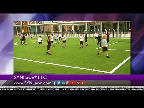 SYNlawn® featured on Modern Living with kathy ireland®