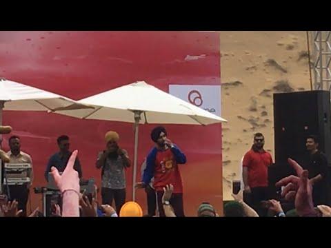 Diljit Dosanjh Live Performance | JA Sahra Desert  Resort Dubai | Do You Know | Holi 2018 | Part-1