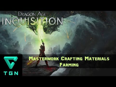 Dragon Age Inquisition Farming Crafting Materials