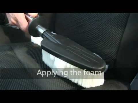Upholstery Cleaner With Active Foam Followed By Vacuuming Tp1
