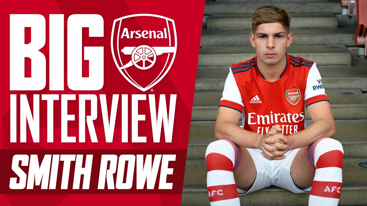 'This means so much to me!'   Emile Smith Rowe reveals why he signed a new long-term contract