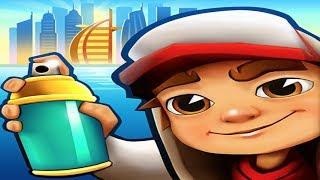 iGameBox🤩Subway Surfers DUBAI HD Fullscreen By JAKE*Gameplay For Kid#1