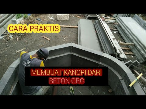 Cara membuat kanopi masjid dari beton grc YouTube