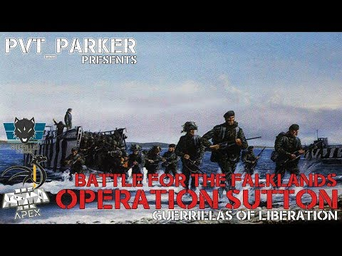 Battle for the Falklands Campaign Week 1- ARMA 3 Clan - Guerrillas of Liberation