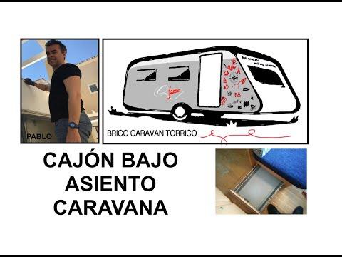 Cajon arc n asientos caravana roller jazz youtube for Interiores de caravanas reformadas