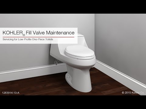 Fill Valve Maintenance Instructions