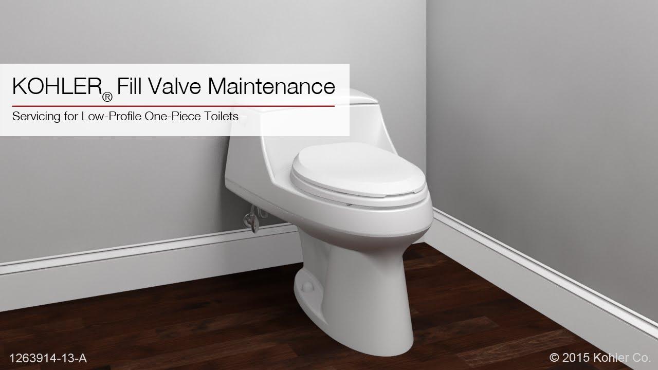 Fill Valve Maintenance Instructions