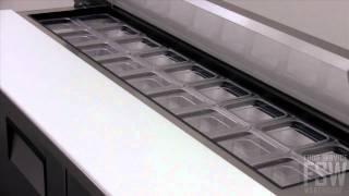 True Sandwich/salad Prep Table Video (tssu-72-18)