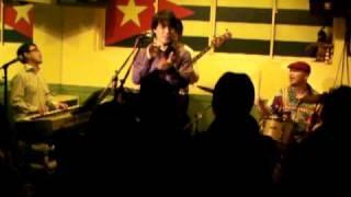 Hiromitsu Obuchi With Triangulo Hokkaido Live Tour @Sapporo HABANA in Sapporo Hokkaido /20th Mar. 2010 大渕博光 With トリアングロ 北海道ライブツアー ...