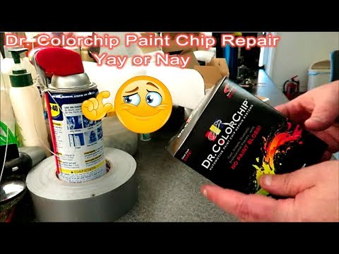 Dr Colorchip Paint Repair Yay or Nay - YouTube