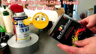 Dr Colorchip Paint Repair Yay or Nay