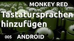 Android: Sprachen zur Tastatur hinzufügen