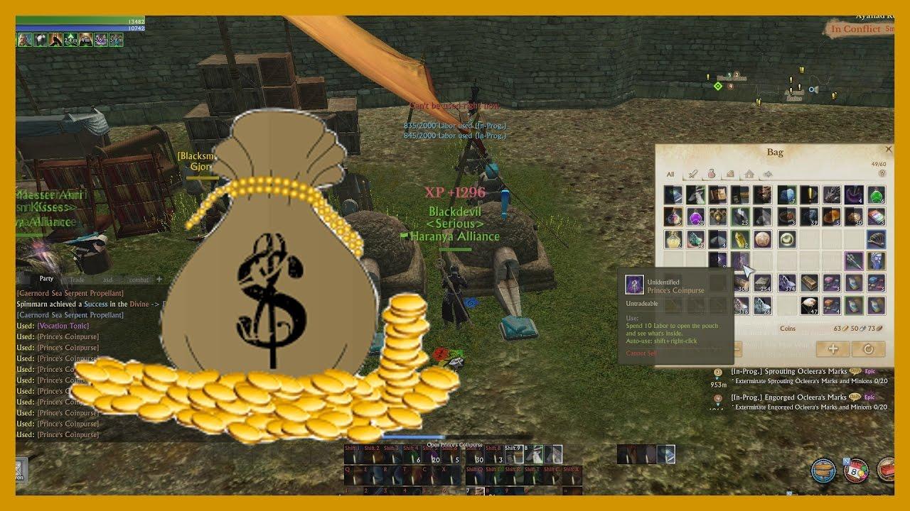 archeage making money crafting