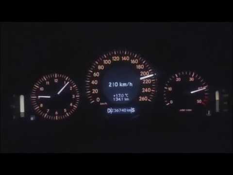240 km/ h  ARZEW ORAN Algerie E220  2003 CDI