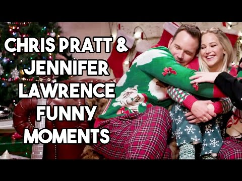 Chris Pratt and Jennifer Lawrence Funny Moments