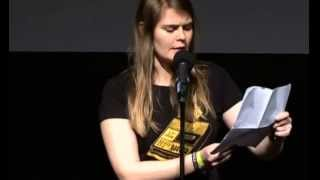 "Poetry Slam Meisterschaft 2013 ""Hazel Brugger"" 02/14"