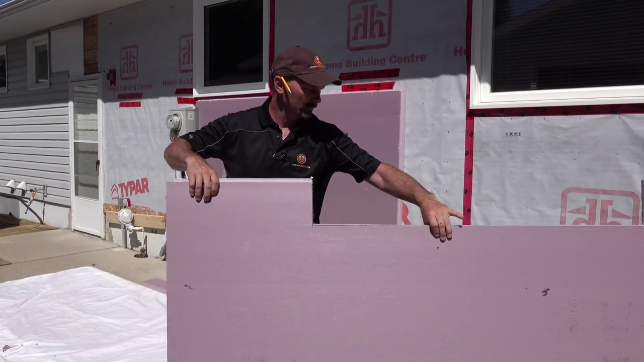 How to install styrofoam insulation on a home 39 s exterior - How to install exterior insulation ...