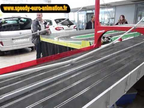 Vidéo Paris Circuit 24 Géant Ninco Slot Car Speedy Euro Animation