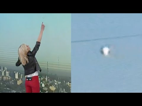 Stunning Metallic UFO Appears During Morning News Broadcast in Buenos Aires (Argentina) - FindingUFO