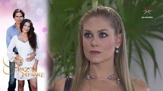 ¡María Alejandra y Doris se declaran la guerra! | Corazón indomable - Televisa