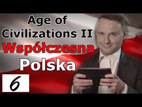 Age Of Civilizations II Współczesna Polska #6 Podbiliśmy Niemcy!