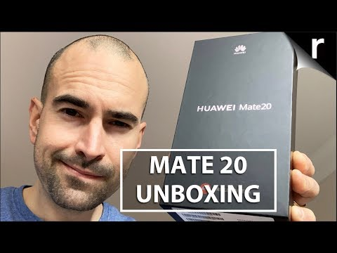 Huawei Mate 20 Unboxing & Tour