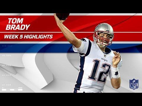 Tom Brady Tosses 303 Yards & 1 TD vs. Tampa Bay   Patriots vs. Buccaneers   Wk 5 Player Highlights