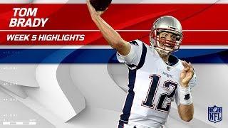Tom Brady Tosses 303 Yards & 1 TD vs. Tampa Bay | Patriots vs. Buccaneers | Wk 5 Player Highlights