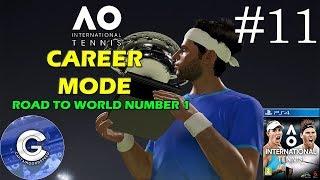 Let's Play AO International Tennis | Career Mode #11 | Monte Carlo Masters | Quarter Final