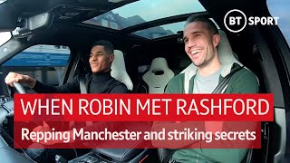 When Rashford met Robin: Shooting secrets, being Rio's driver, and representing Manchester
