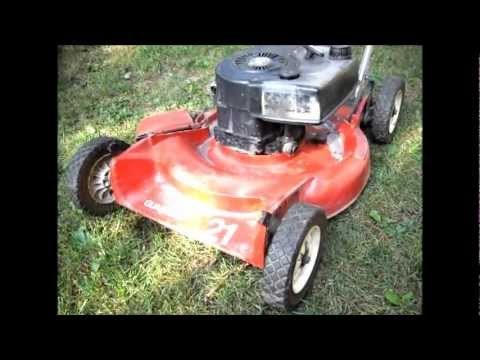 Toro Commercial Mowers >> Vintage Toro Guardian 21 Mower - YouTube